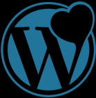 Wordpress love logo