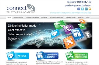 Image of WordPress website in Bicester