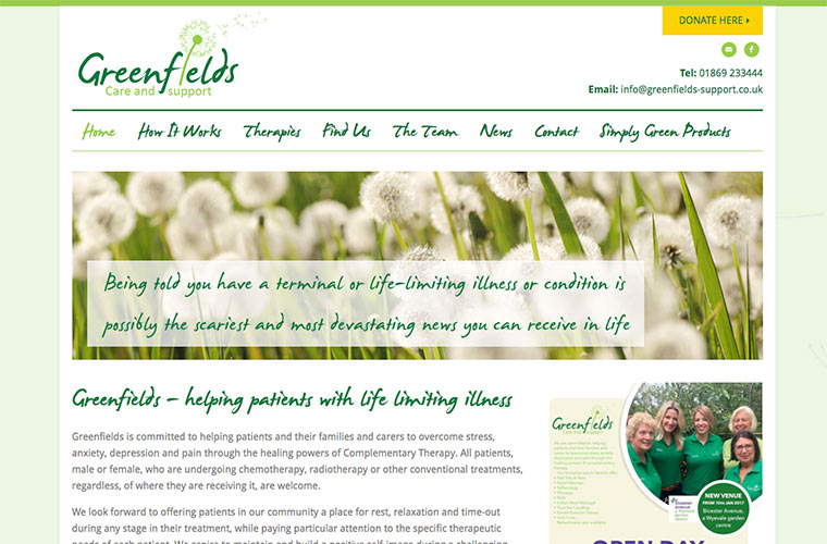 greenfields care and support website