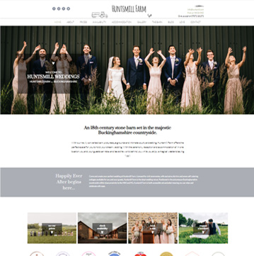 Huntsmill Weddings Website