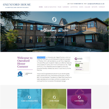 Oxenford House Website